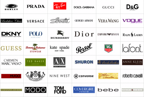 brands of sunglasses  eyeglasses brands